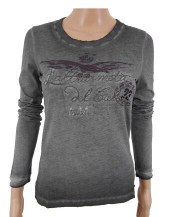 T-shirt manica lunga donna AERONAUTICA MILITARE