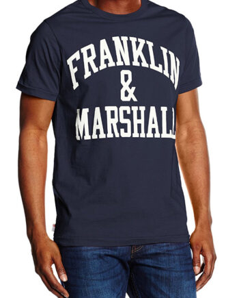 Franklin Marshall JERSEY ROUND NECK SHORT Uomo