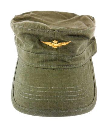 Cappellino Aeronautica Militare Verde Militare Cappello Visiera Uomo