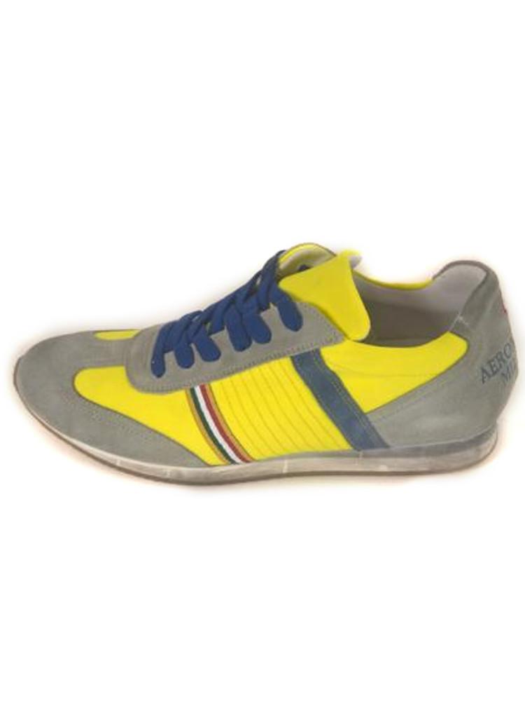 8220297a81 Scarpe Aeronautica Militare Sneakers Pelle Gialla n. 41,43,45 S1/24