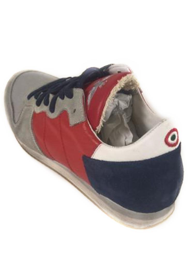 Scarpe aeronautica militare sneakers pelle rossa blu n 42 - La porta rossa replay ...
