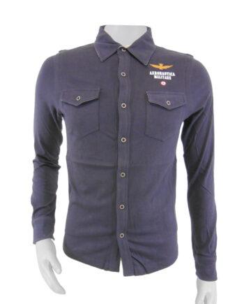 CAMICIA AERONAUTICA MILITARE BLU TG 46 (S),Camicia Uomo AM,Abbigliamento Uomo Firmato al Miglior Prezzo,Spedizione Rapida e Acquisti Sicuri GDAMODA.IT
