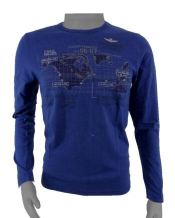 T-SHIRT ML AERONAUTICA MILITARE DISTANT FRONTIER BLU TG 46 (S),T-shirt Maglia Uomo AM,Abbigliamento Uomo Firmato,Miglior Prezzo,Sped Rapida,Acquisti Sicuri
