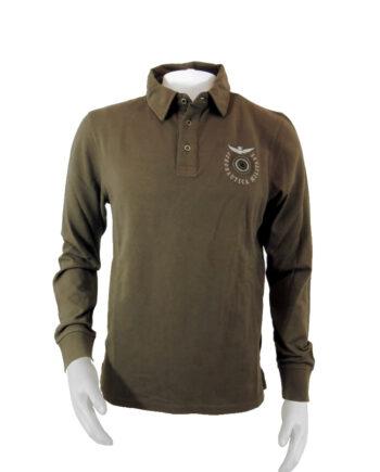 POLO AERONAUTICA MILITARE MARRONE TG 50 (L),Polo Uomo AM,Abbigliamento Uomo Firmato al Miglior Prezzo,Spedizione Rapida e Acquisti Sicuri GDAMODA.IT
