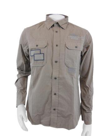 CAMICIA AERONAUTICA MILITARE comando logistico beige salvia TG L (50),Camicia Uomo AM,Abbigliamento Uomo Firmato,Miglior Prezzo,Sped Rapida,Acquisti Sicuri