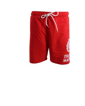 Boxer da mare Franklin Marshall Uomo Rosso Lungo