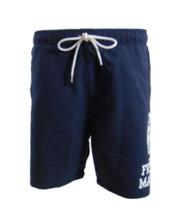 Boxer da mare Franklin Marshall Uomo Blu Navy Lungo