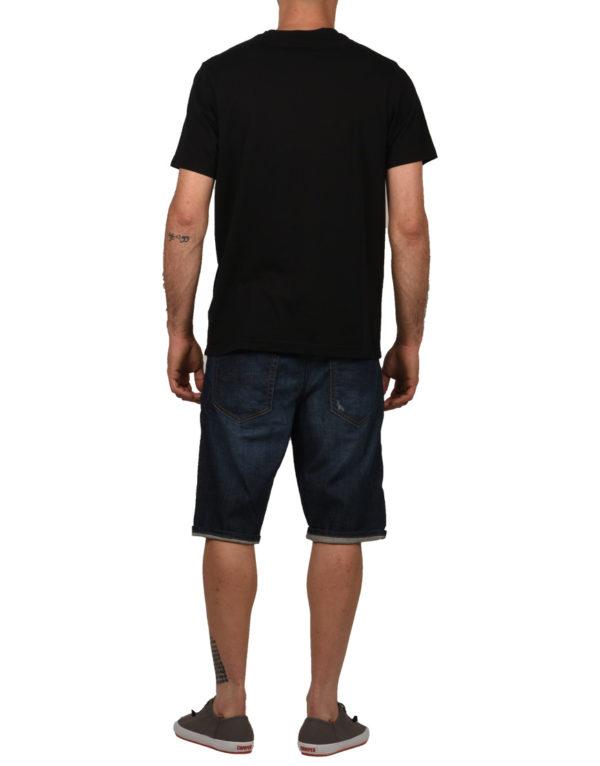 the latest ba3dd 3fd47 T-Shirt Franklin Marshall JERSEY ROUND Nera Uomo Tg L,XL,XXL,3XL A9/25