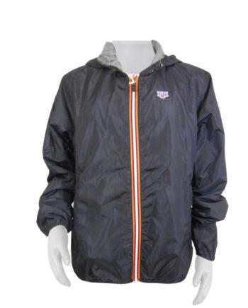 Giacca Franklin Marshall Uomo Uni Zip Nera TG 2XL,Giacca kWay Uomo F&M,Abbigliamento Uomo Firmato,Miglior Prezzo,Acquisti Sicuri e Spedizioni Rapide