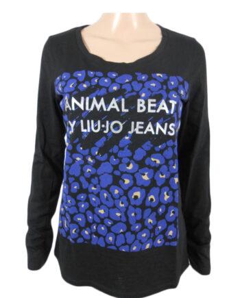 T-Shirt LIU JO JEANS Animal Beat ML tg 42 S,Maglia Liu Jo Donna,Abbigliamento Firmato Donna Prezzo Più Basso,Spedizione Rapida,Acquisti Sicuri