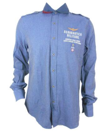 CAMICIA AERONAUTICA MILITARE European Space Agency TG L 50,Camicia Uomo AM,Abbigliamento Uomo Firmato al Miglior Prezzo,Spedizione Rapida e Acquisti Sicuri
