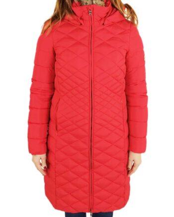 Piumino Dolomite Furcia 2WPK Red Donna Lungo Rosso,Piumino Dolomite Donna,Abbigliamento Firmato Donna Prezzo Più Basso,Spedizione Rapida,Acquisti Sicuri