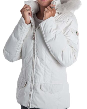 Piumino Dolomite Nuuk WJ Bianco Donna tg XS,S,M,L,XL,XXL,Piumino Dolomite Donna,Abbigliamento Donna Firmato Prezzo Più Basso,Spedizione Rapida