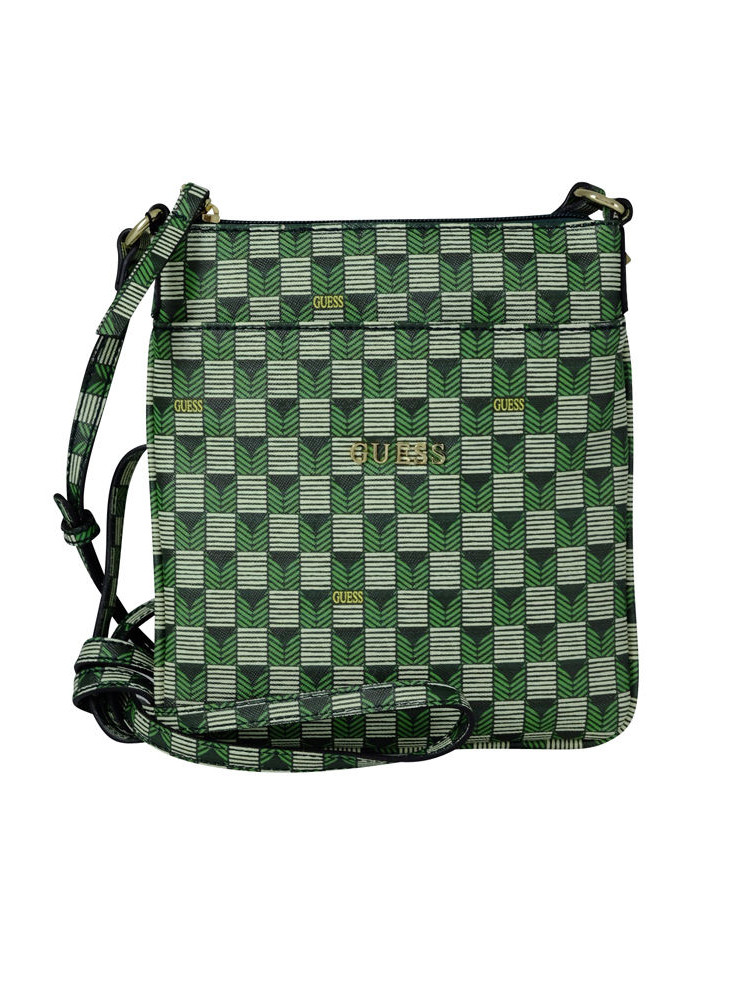26d5c3b045 BORSA GUESS HWJETS Tracolla Donna Verde A21/19