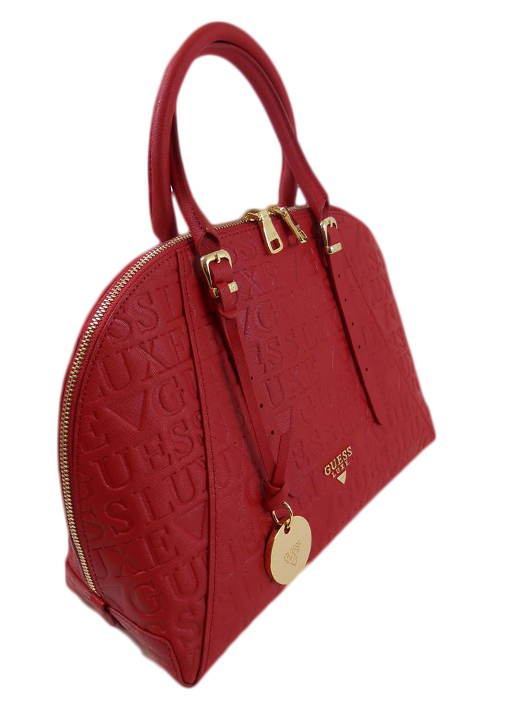 Borsa guess lady pelle rossa hwladll a25 6 dresslix - La porta rossa replay ...