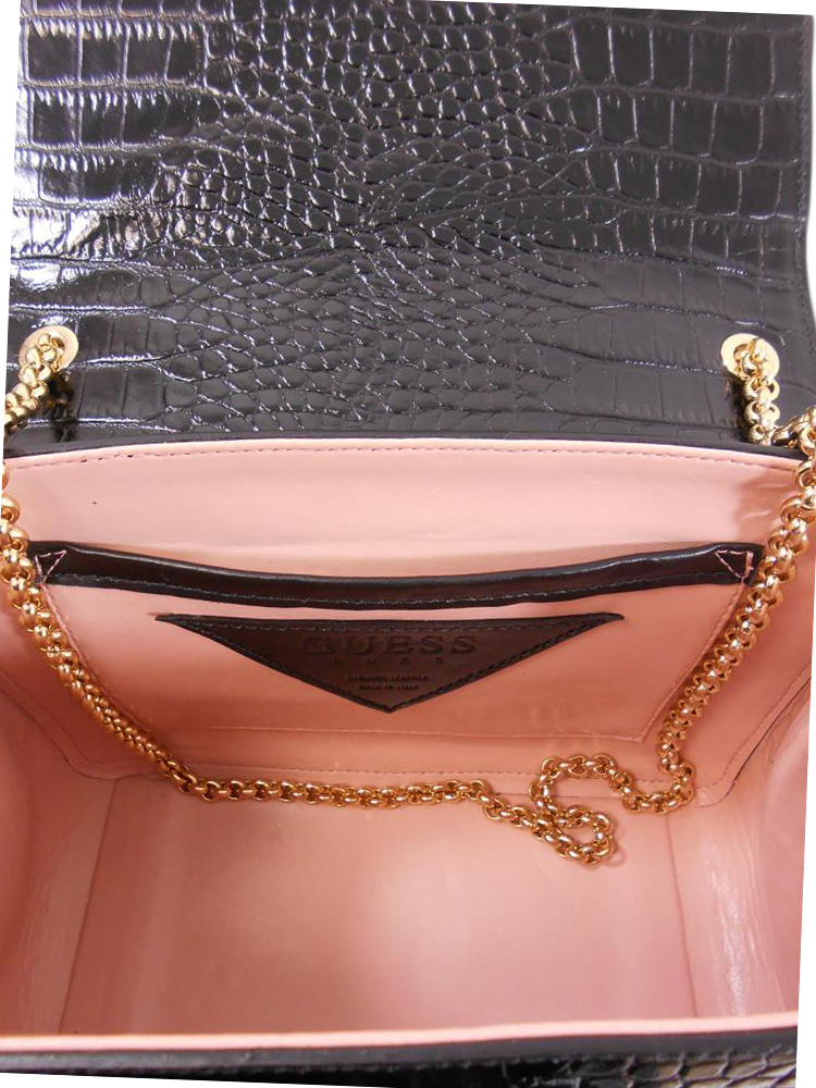 BAULETTO GUESS PELLE COCCO A284