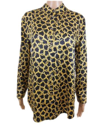 CAMICIA EQUIPMENT SETA FANTASIA ORECCHINI TG S,camicia donna equipment,abbigliamento firmato prezzo più basso,spedizione rapida,acquisti sicuri, Dresslix.com shop online