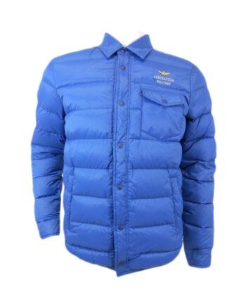 GIACCA PIUMINO AERONAUTICA MILITARE BLU BOTTONI,giacca uomo aeronautica militare,abbigliamento firmato uomo prezzo più basso,spedizione rapida, dresslix