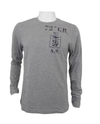 T-shirt AERONAUTICA MILITARE grigio STEMMA TG M,XXL,Maglia Aeronautica Militare Uomo,Abbigliamento firmato prezzo più basso,spedizione rapida,acquisti sicuri, Dresslix.com