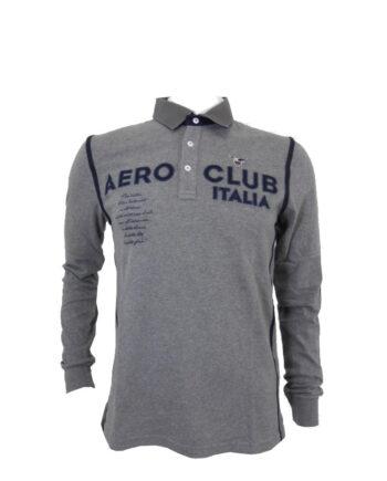 POLO AERONAUTICA MILITARE AERO CLUB GRIGIO BANDE TG M,L,Maglia Aeronautica Militare uomo,abbigliamento firmato prezzo più basso,spedizione rapida,acquisti sicuri, dresslix.com