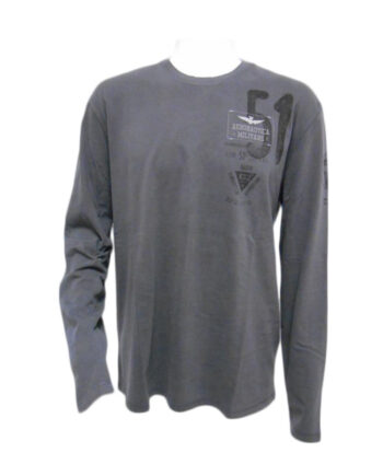 T-shirt AERONAUTICA MILITARE grigio topo 51 TG 3XL,Maglia Aeronautica Militare Uomo,Abbigliamento firmato prezzo più basso,spedizione rapida,acquisti sicuri, Dresslix.com