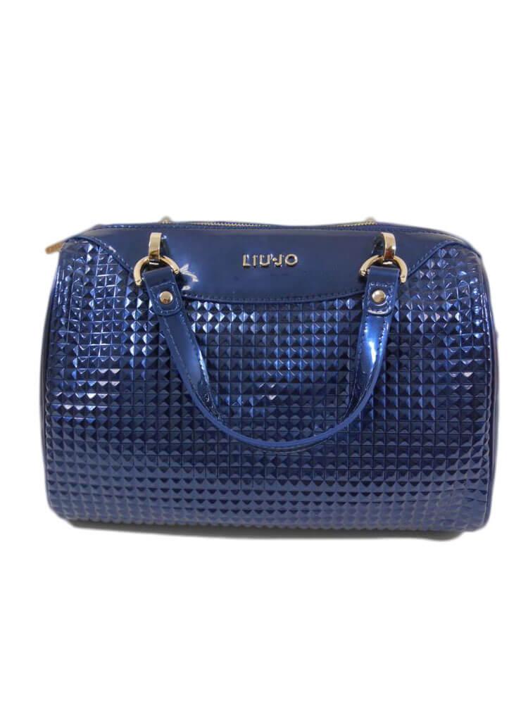 Donna Blu Jo Ecopelle Diamante Notte Bauletto Liu borsa Donna accessori Firmati q86wASIa