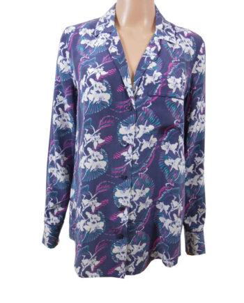 CAMICIA EQUIPMENT SETA SPRING SCOLLO V TG S,camicia donna equipment,abbigliamento firmato prezzo più basso,spedizione rapida,acquisti sicuri, Dresslix.com shop online