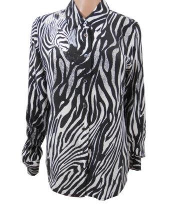 CAMICIA EQUIPMENT SETA ZEBRA TG S,camicia donna equipment,abbigliamento firmato prezzo più basso,spedizione rapida,acquisti sicuri, Dresslix.com shop online