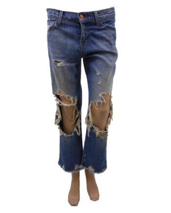 JEANS J BRAND STRAPPI GINOCCHIA TG XS 26,jeans jbrand donna,abbigliamento firmato prezzo più basso,spedizione rapida,acquisti sicuri, dresslix.com shop online