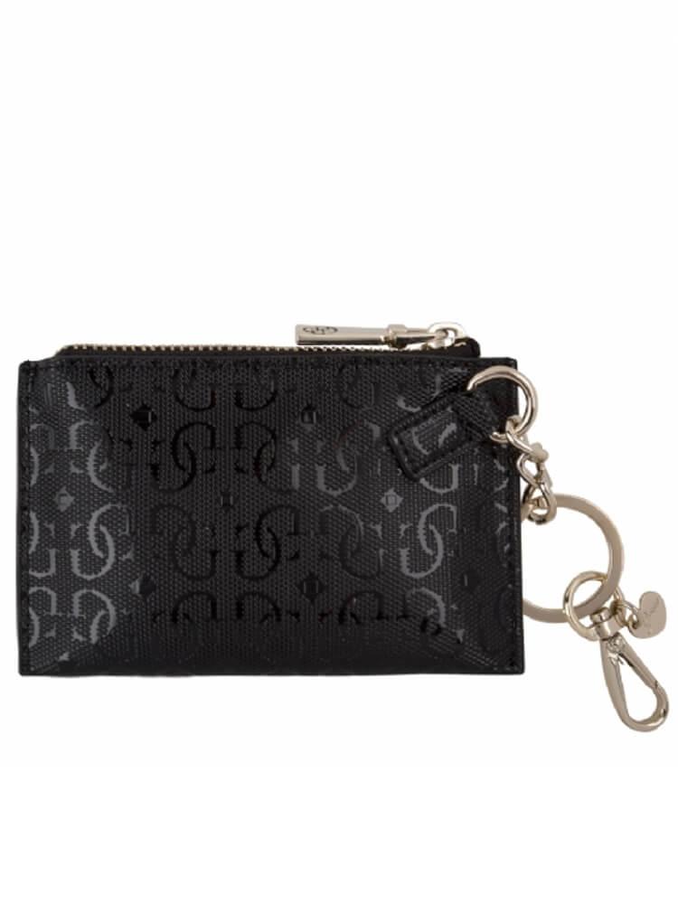 aspetto dettagliato 8b6e0 8509c Portachiavi Portamonete Guess Marian Gifting Nero A40/17