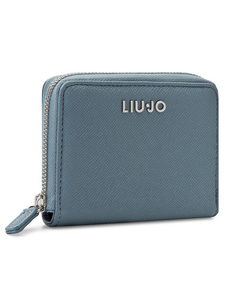ec67ca45cf1b3 Portafoglio LIU JO S Anna Chain Blu Nuvola Argento A40 13 - Dresslix