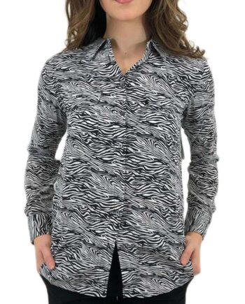CAMICIA DONNA EQUIPMENT ZEBRATA TG S,camicia donna equipment,abbigliamento firmato prezzo più basso,spedizione rapida,acquisti sicuri,resi facili
