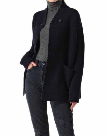 Cappotto Lana DEHA Donna Blu Navy tg XS,S,M,L,cappotto donna deha,abbigliamento firmato prezzo più basso,spedizione rapida,acquisti sicuri,resi facili,Dresslix