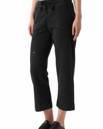 Pantalone DEHA Donna Jogger Nero tg XS,S,M,pantalone donna deha,abbigliamento firmato prezzo più basso,spedizione rapida,acquisti sicuri,resi facili
