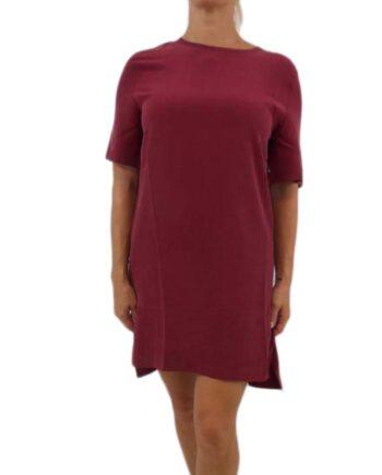 ABITO DONNA EQUIPMENT Seta Burnt Scarlet TG S,vestito donna equipment,abbigliamento firmato prezzo più basso,spedizione rapida,acquisti sicuri,resi facili,dresslix shop online