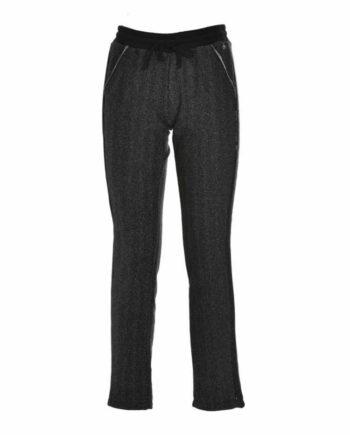 Pantalone Donna Deha MainApps Felpa Lurex Nero tg XS,S,M,L,pantalone donna deha,abbigliamento firmato prezzo più basso,spedizione rapida,acquisti sicuri,resi facili