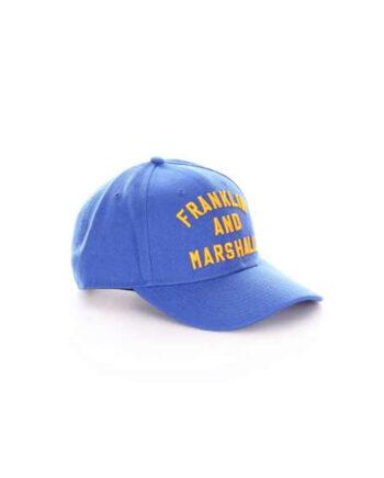 CAPPELLO FRANKLIN MARSHALL UOMO BLU,berretto franklin marshall,accessori firmati prezzo più basso,spedizione rapida,acquisti sicuri,resi facili