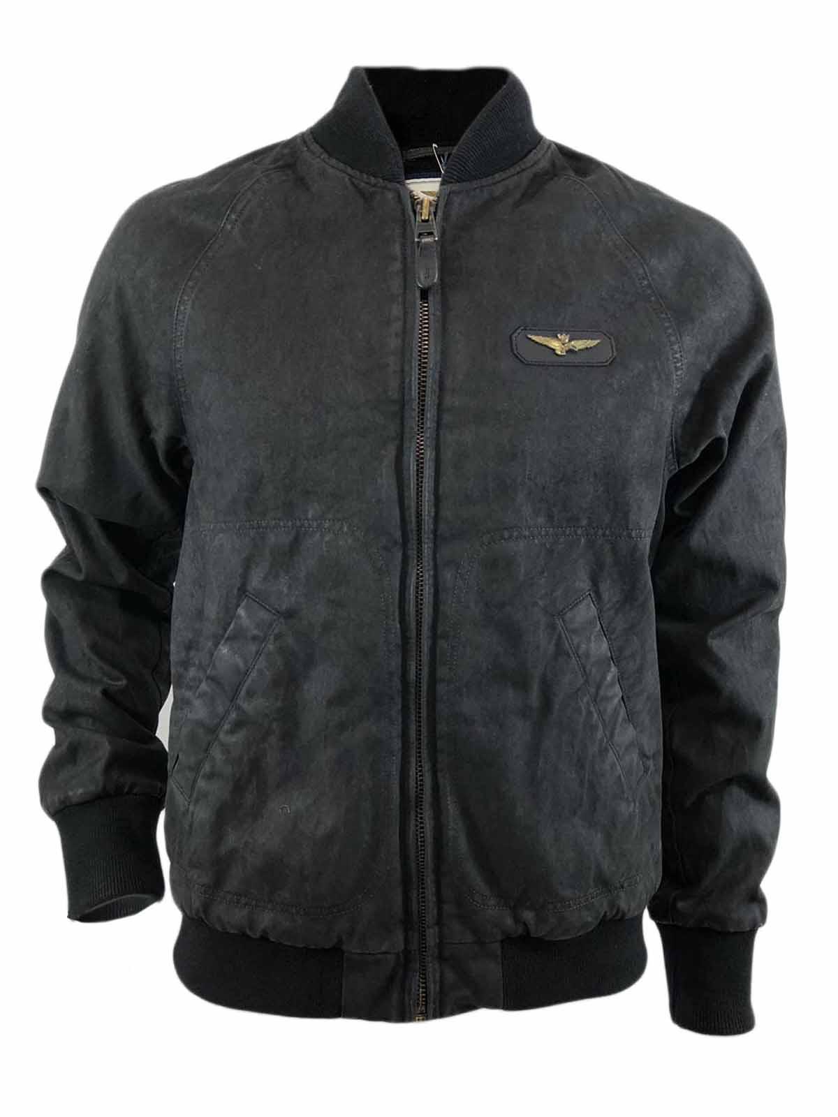 d6568774a4fa Giacca Bomber AERONAUTICA MILITARE Uomo Nero Aquila tg L,cappotto  aeronautica militare,abbigliamento firmato