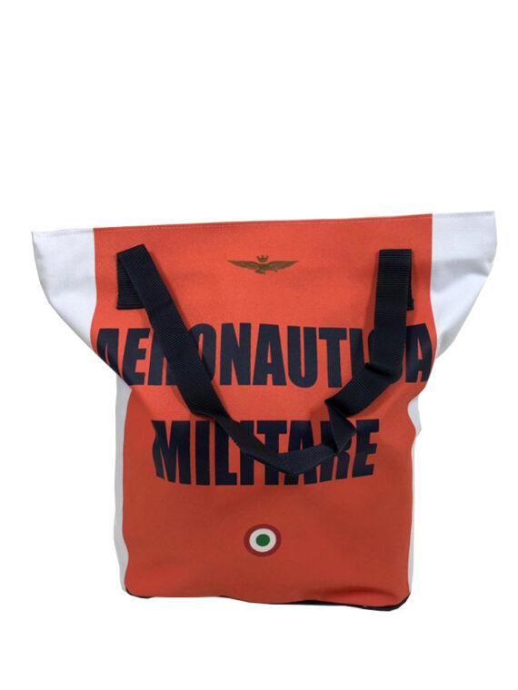 Borsa Shopper Aeronautica Militare Arancione,borsa aeronautica militare uomo,accessori firmati prezzo più basso,100% originali,resi facili,acquisti sicuri