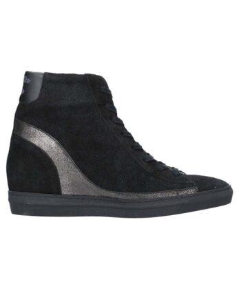 Scarpe Aeronautica Militare Donna Sneakers Alte Nere,scarpa donna aeronautica militare,accessori firmati prezzo più basso,prezzo outlet aeronautica militare