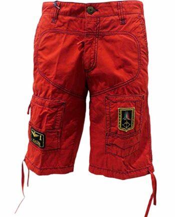 PANTALONE BERMUDA Aeronautica Militare Uomo Rosso Tasche tg S,pantalone corto uomo AM,abbigliamento firmato uomo,miglior prezzo,acquisti sicuri e rapidi