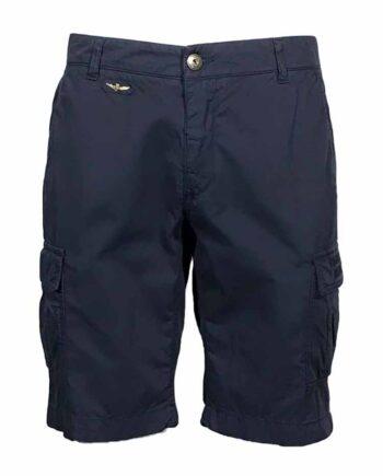 PANTALONE BERMUDA AERONAUTICA MILITARE Uomo Blu Aquila Tasche tg XL,pantalone aeronautica militare uomo,abbigliamento firmato prezzo più basso
