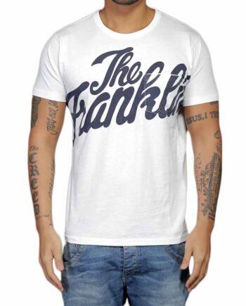 T-Shirt Franklin Marshall Uomo Bianca Taschino Uomo Tg 2XL,Maglia Uomo cotone F&M,Abbigliamento Uomo Firmato,Miglior Prezzo,Acquisti Rapidi e Sicuri