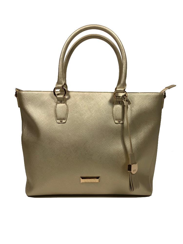 borsa donna color oro