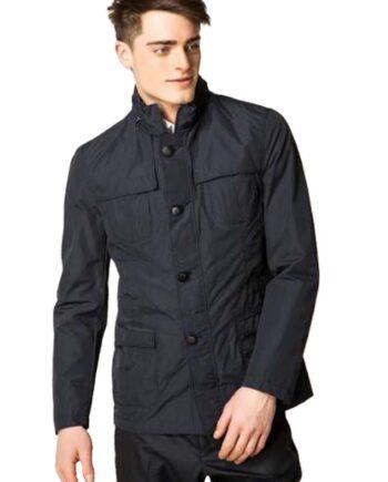 Giubbotto Marciano Guess Uomo Blu Scuro,giacca primavera guess uomo,abbigliamento 100% originale,prodotti firmati prezzo più basso,acquisti sicuri