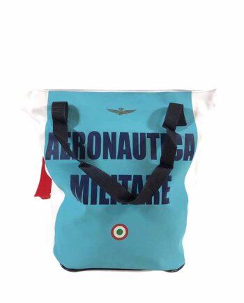 Borsa Shopper Aeronautica Militare Azzurro Bianca,borsa aeronautica militare uomo,accessori firmati prezzo più basso,100% originali,resi facili
