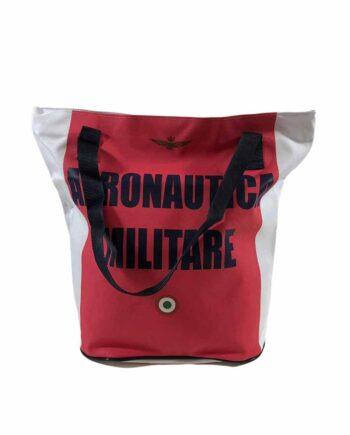 Borsa Shopper Aeronautica Militare Rossa Bianca,borsa aeronautica militare uomo,accessori firmati prezzo più basso,100% originali,resi facili,acquisti sicuri