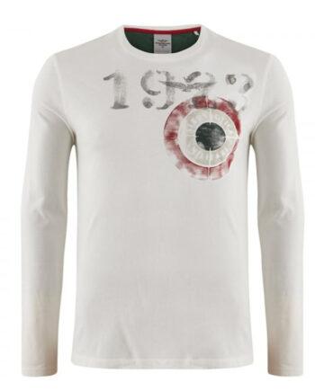 T-shirt AERONAUTICA MILITARE Uomo Bianca 1923,Maglia Aeronautica Militare uomo,abbigliamento firmato prezzo più basso,spedizione rapida