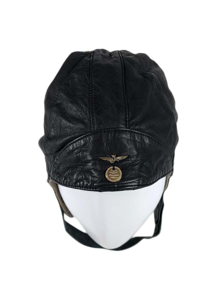 Cappellino Aeronautica Militare Uomo Pelliccia Blu Tg UNI A7//56