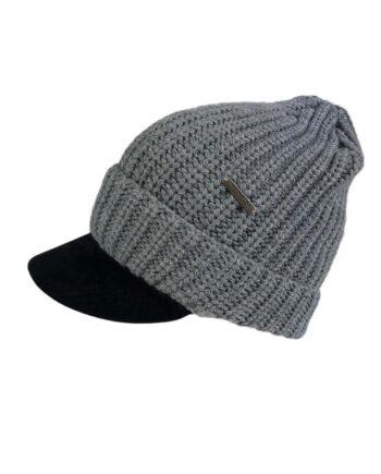 Cappellino Visiera Aeronautica Militare Uomo Lavorato Maglia Grigio,cappello inverno aeronautica militare,accessori firmati prezzo più basso,acquisti sicuri